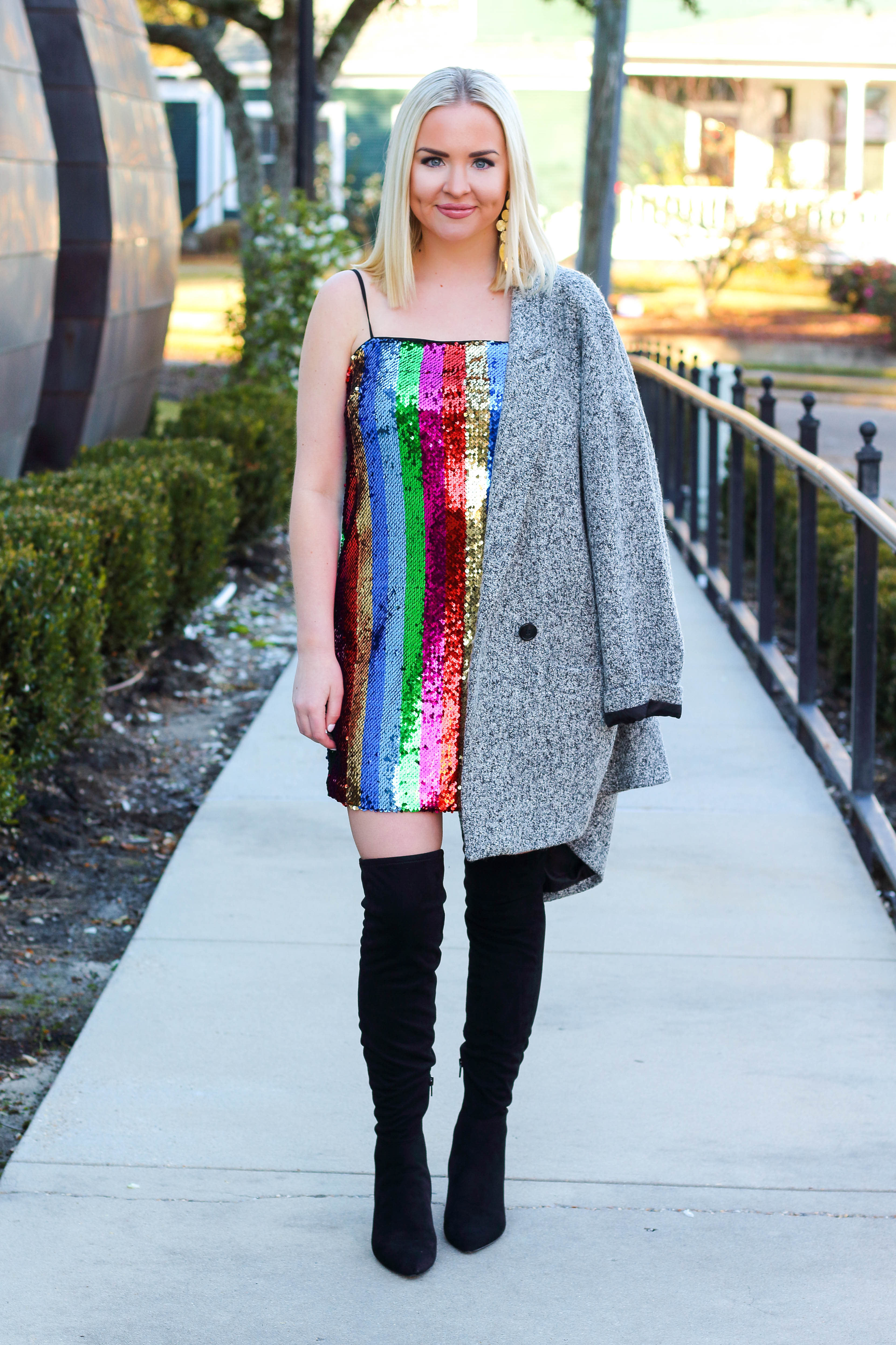 NYE SPARKLE DRESS