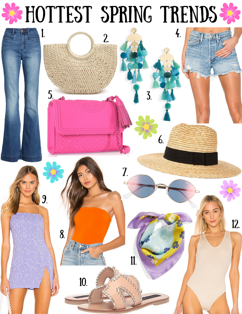12 HOT TRENDS FOR SPRING