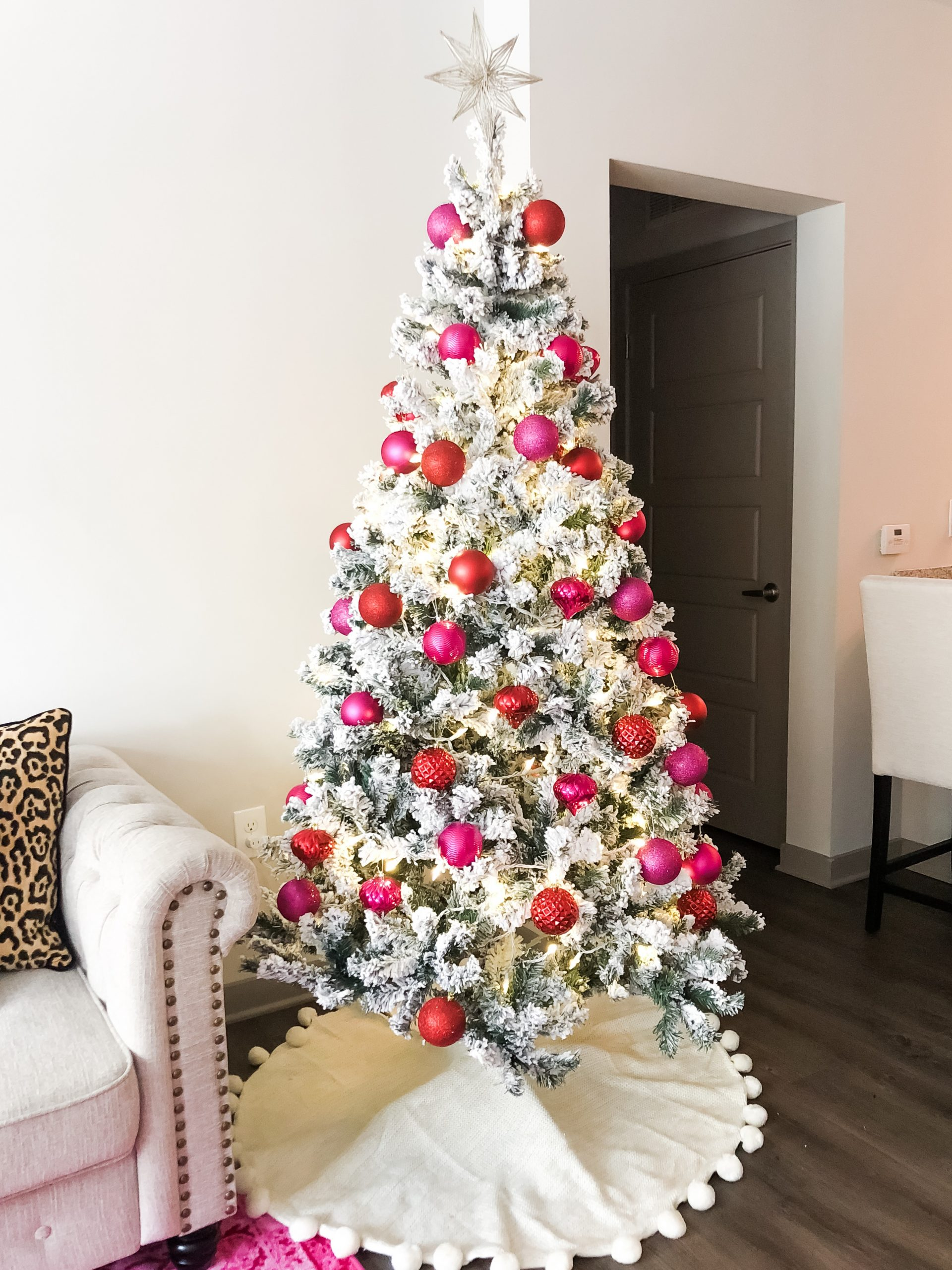 RED + PINK CHRISTMAS DECOR
