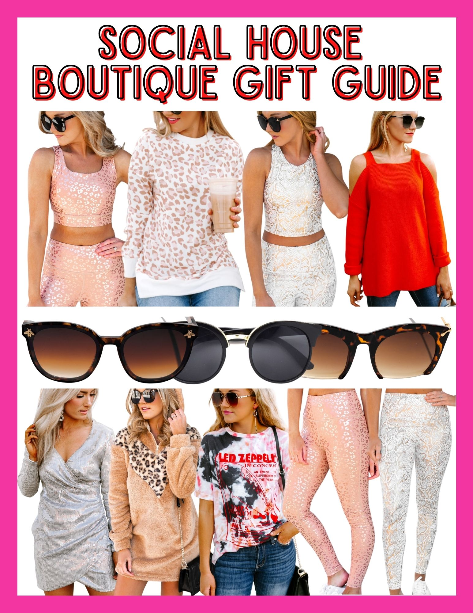 Social House Boutique Gift Guide